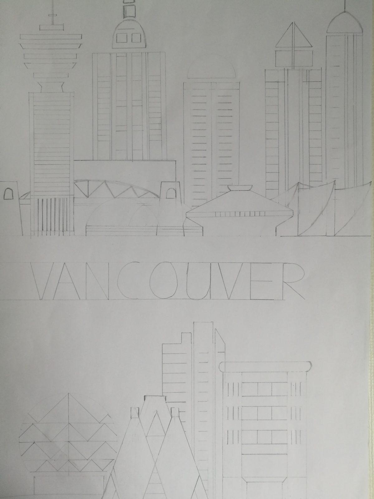 Uhr: Vancouver