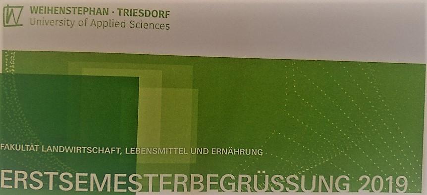 Erster Studientag in Triesdorf
